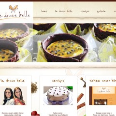 Site La Douce Belle Buffet e Eventos