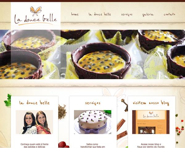 Site La Douce Belle Buffet e Eventos