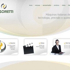 Site Casoretti Equipamentos Industriais
