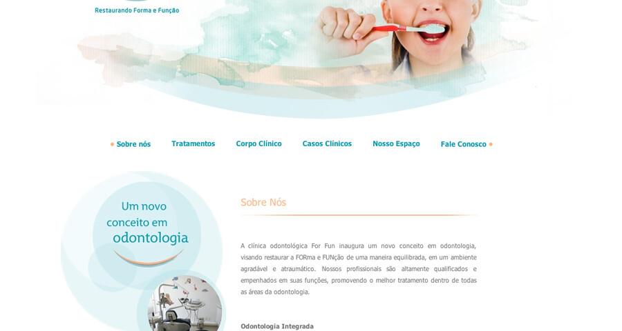 Website Consultório Odontológico