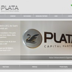 Website Empresa de Investimentos