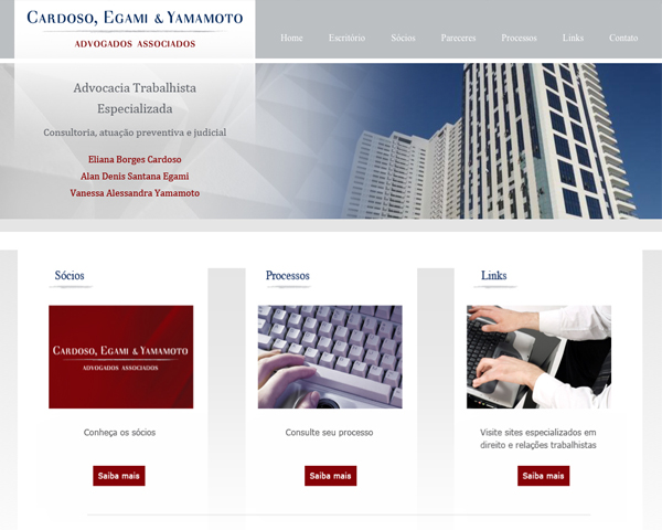Website Advocacia