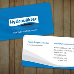 Cartão de Visitas Hydrauliktec