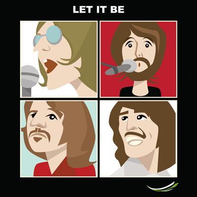 Ilustração Personalizada Beatles
