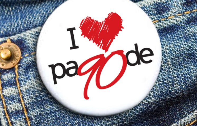 Logomarca Pagode 90