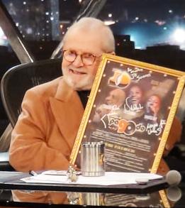 Cartaz Amigos do Pagode 90 é exibido no Jô Soares
