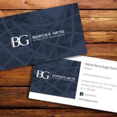 Cartão de Visitas para Escritório de Advocacia