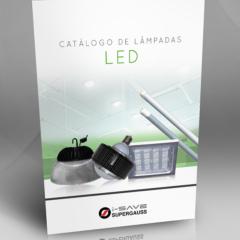 Design de Catálogo para Lâmpadas LED
