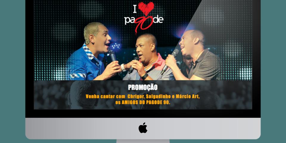 Website I Love Pagode 90
