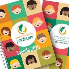 Design de Agendas para Centro Recreativo
