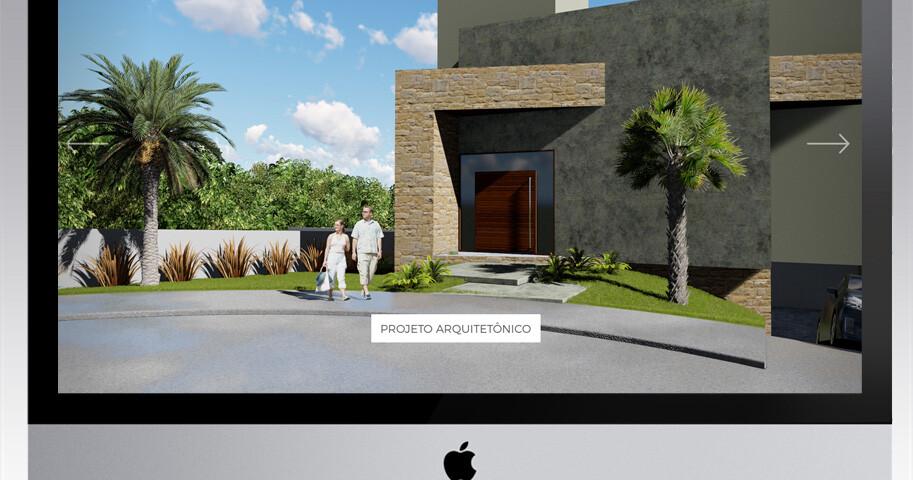 Criação Site Arquitetura e Design de Interiores